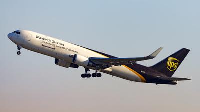 N332UP - Boeing 767-34AF(ER) - United Parcel Service (UPS)