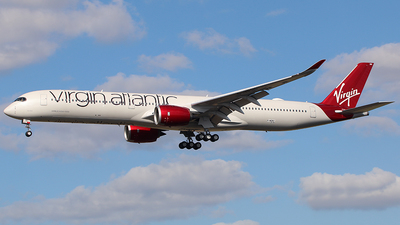 F-WZNY - Airbus A350-1041 - Virgin Atlantic Airways