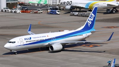 JA69AN - Boeing 737-881 - All Nippon Airways (ANA)