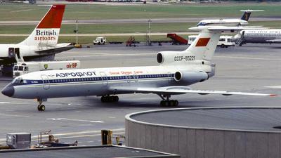 CCCP-85221 - Tupolev Tu-154B - Aeroflot