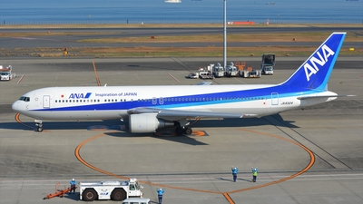 JA8324 - Boeing 767-381 - All Nippon Airways (ANA)