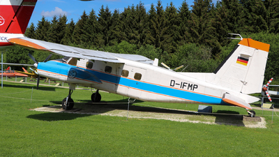 D-IFMP - Dornier Do-28D2 Skyservant - Germany - DLR Flugbetriebe