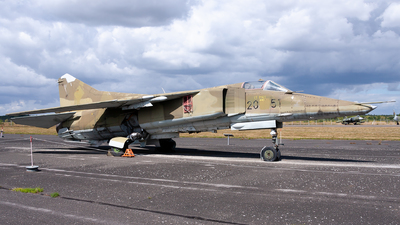 20-51 - Mikoyan-Gurevich MiG-23BN Flogger H - German Democratic Republic - Air Force