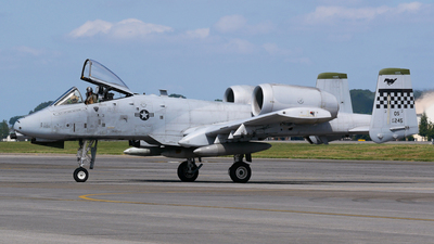 80-0245 - Fairchild A-10C Thunderbolt II - United States - US Air Force (USAF)