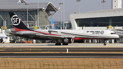 A picture of B2839 - Boeing 7572Z0(PCF) - SF Airlines - © MTG_001