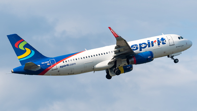 A picture of N638NK - Airbus A320232 - Spirit Airlines - © Evan Dougherty