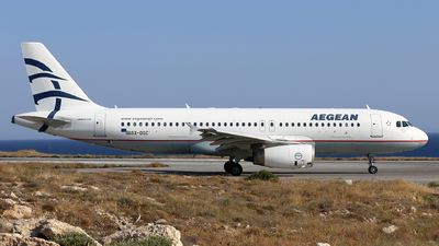 A picture of SXDGC - Airbus A320232 - Aegean Airlines - © Eric Boettcher