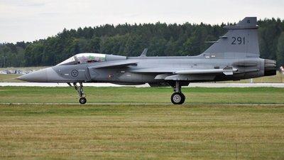 291 - Saab JAS-39C Gripen - Sweden - Air Force