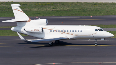 M-WING - Dassault Falcon 900DX - Gama Aviation
