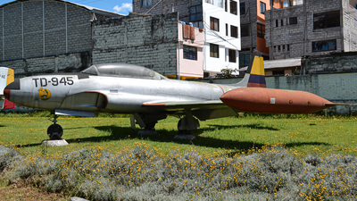 TD-945 - Lockheed T-33 Shooting Star - Ecuador - Air Force