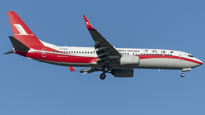A picture of B6866 - Boeing 73789P - Shanghai Airlines - © Tom Cheng