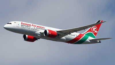 5Y-KZE - Boeing 787-8 Dreamliner - Kenya Airways