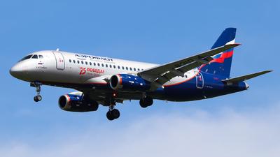 A picture of RA89104 - Sukhoi Superjet 10095B - Aeroflot - © Vitaly Revyakin