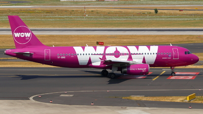 TF-BRO - Airbus A320-232 - WOW Air