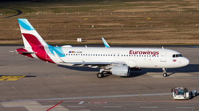 A picture of DAEWP - Airbus A320214 - Eurowings - © Markus Altmann