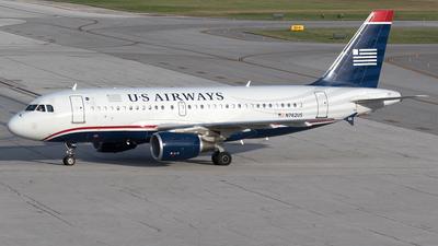 N762US - Airbus A319-112 - US Airways