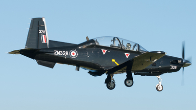 ZM328 - Raytheon T-6C Texan II - Raytheon Aircraft