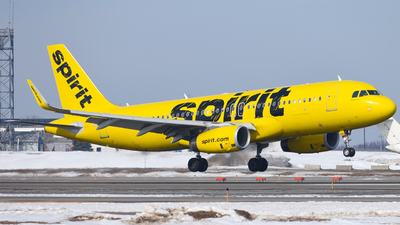 A picture of N622NK - Airbus A320232 - Spirit Airlines - © mskinner04