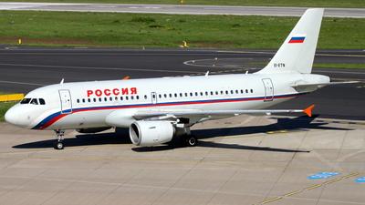 EI-ETN - Airbus A319-112 - Rossiya Airlines
