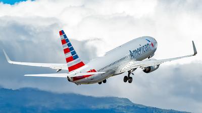 A picture of N859NN - Boeing 737823 - American Airlines - © Leonardo Corrales Bogantes