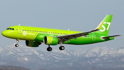 A picture of VPBTY - Airbus A320271N - S7 Airlines - © Arkady Perevoznikov