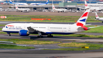 A picture of GZBKI - Boeing 7879 Dreamliner - British Airways - © Haneda Spotter
