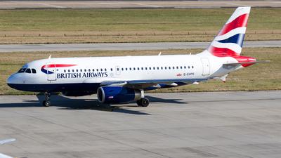G-EUPS - Airbus A319-131 - British Airways