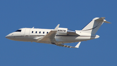 N1967M - Bombardier BD-100-1A10 Challenger 300 - Private