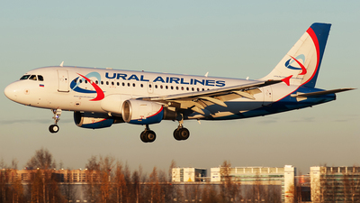 VP-BTF - Airbus A319-112 - Ural Airlines