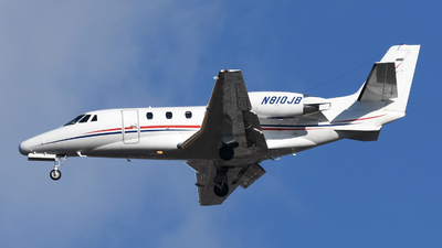 A picture of N810JB - Cessna 560XL Citation Excel - Delta Private Jets - © DJ Reed - OPShots Photo Team