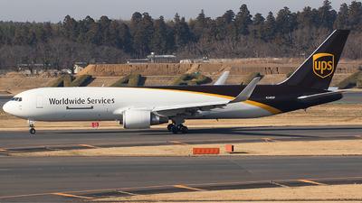 N340UP - Boeing 767-34AF(ER) - United Parcel Service (UPS)