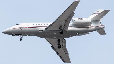 A picture of N5BL - Dassault Falcon 2000 - [176] - © Devin | Charleston Spotter