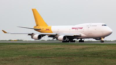 N743CK - Boeing 747-446(BCF) - DHL (Kalitta Air)