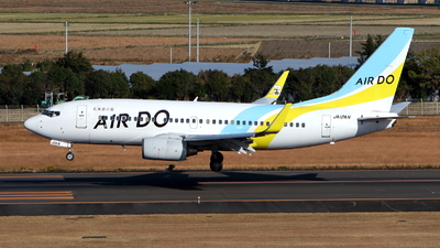 JA12AN - Boeing 737-781 - Air Do (Hokkaido International Airlines)