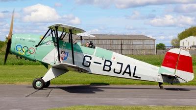 G-BJAL - Bücker 131 Jungmann - Private