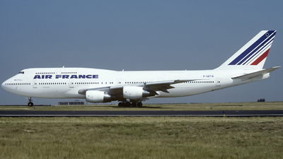 F-GETA - Boeing 747-3B3(M) - Air France
