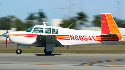 N6854V - Mooney M20F - Private