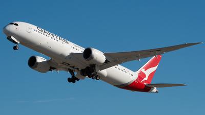 VH-ZNB - Boeing 787-9 Dreamliner - Qantas