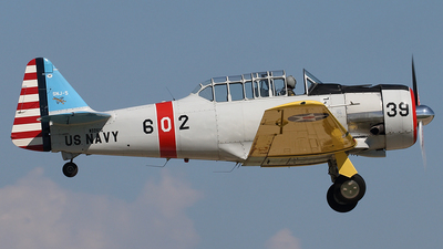 N3261G - North American SNJ-5 Texan - Private