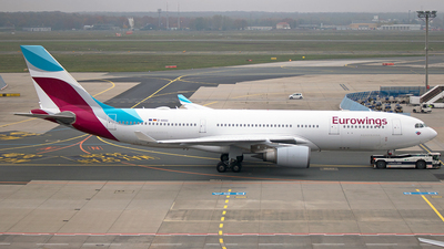 D-AXGC - Airbus A330-203 - Eurowings (SunExpress Germany)