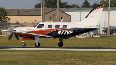 N77VF - Piper PA-46-500TP Malibu Meridian - Private