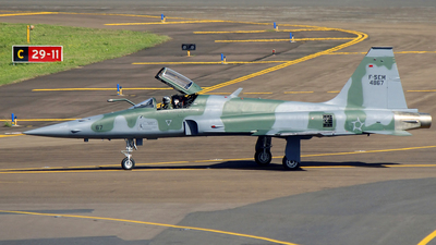 FAB4867 - Northrop F-5EM Tiger II - Brazil - Air Force