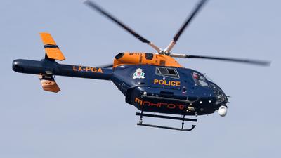 LX-PGA - McDonnell Douglas MD-902 Explorer II - Luxembourg - Police