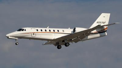 N507SF - Cessna 680 Citation Sovereign Plus - Private