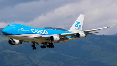 A picture of PHCKB - Boeing 747406F(ER) - KLM - © Martin Blanco C