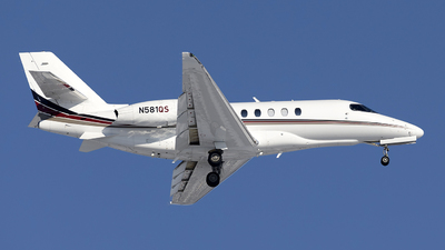 N581QS - Cessna Citation Latitude - NetJets Aviation