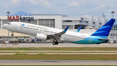 PK-GFX - Boeing 737-8U3 - Garuda Indonesia