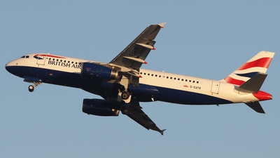 G-GATR - Airbus A320-232 - British Airways