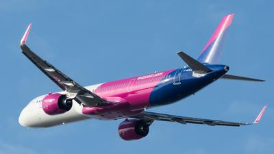 G-WUKM - Airbus A321-271NX - Wizz Air UK