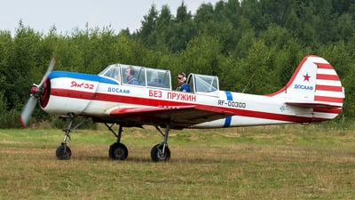 RF-00300 - Yakovlev Yak-52 - Russia - Voluntary Society for Assistance to the Army, Air Force and Navy (DOSAAF)